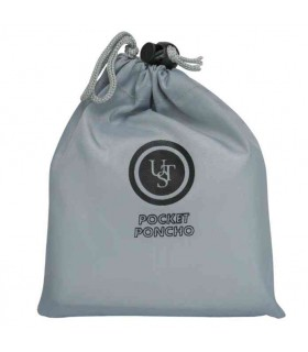Ust Brands Pocket Poncho, Gray -
