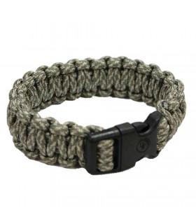 UST Brands W100292B24 Bracelet Survie Vert Camo -