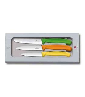 Victorinox 6711631 Ensemble de trois couteaux d'office -