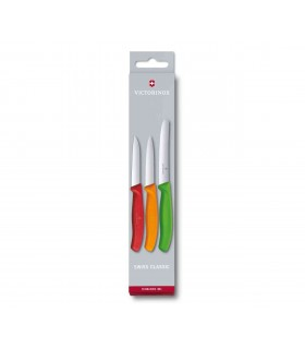 Victorinox 6711632 Set de couteaux d'office colorés -