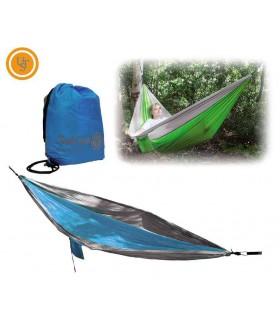 UST Brands W100012156 Hamac 1.0 Bleu et gris -