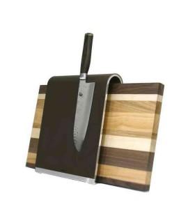 Kai SGS1 SUPERGRAU® Porte-couteaux Saddle avec planche à dècouper -