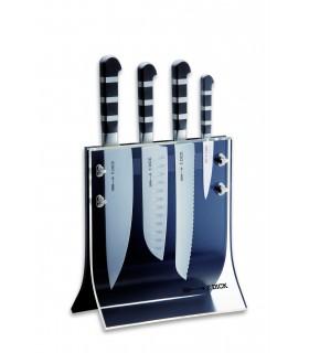 Dick 8197200 Série 1905 Bloc avec 4 couteaux  et plexi -