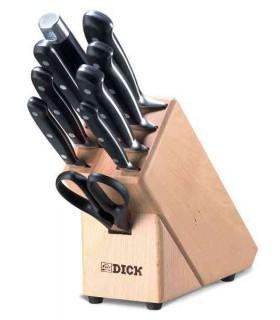 Dick 8807000 Bloc à couteaux , bois -