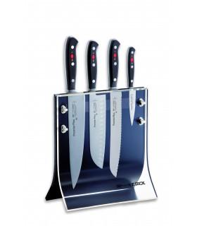 Dick 8804011 Premier Plus Bloc de couteaux Design, magnétique 4 Couteaux -