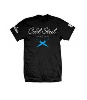 Cold Steel TJ3 Cross Guard Black Tee Shirt L -