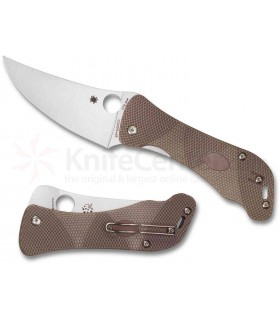Spyderco C225GP Hundred Pacer G-10 PE -