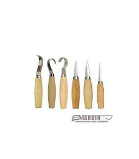 Mora Pack 6X Carving Set 106 120 122 162 163 164 -