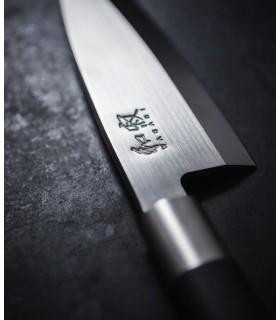 Kai 6715D Wasabi Black Deba Lame de 15 cm -