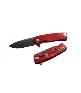 Lionsteel ROK A RB Aluminium Rouge et lame noir -